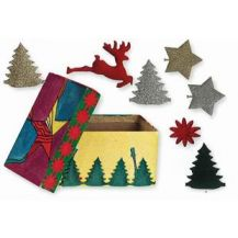 ADHESIVE CHRISTMAS DECORATIONS 300'S