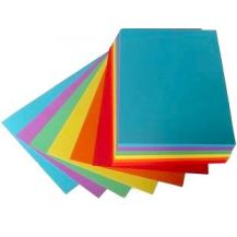 COLOUERED FLASH CARD 150 X 50  (100)
