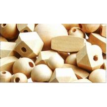 WOODEN BEADS NATURAL ASSORTED 92'S