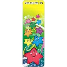 BOOK MARK:- STARS (PKT35)