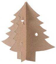 PAPIER MACHE 3D CHRISTMAS TREE 10'S