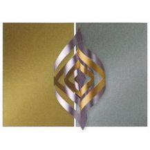 METALLIC GOLD / SILVER 2 TONE 10'S