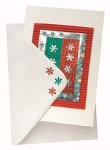 CARD AND ENVELOPES - WHITE PKT 20