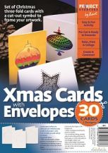 CARDS AND ENVELOPES- CHRISTMAS CUT-OUTS PKT 30