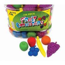 COUNTERS FRUITY FUN - 108 PIECES