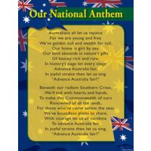 CHART:- AUST NATIONAL ANTHEM