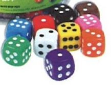 DICE - 24MM PACK OF 10