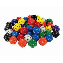 DICE - MULTISIDED PKT 12