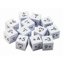 DICE - FOAM - POSITIVE / NEGATIVE PACK 12