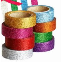 WASHI TAPES GLITTER 8'S