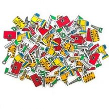 FOAM STICKERS - TOOLS PACK OF 100