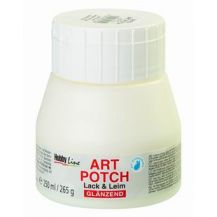 ART POTCH VARNISH GLUE 250ML GLOSSY