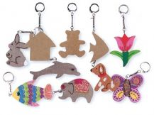 KEY TAGS WOODEN ASST 10,S (KG200)
