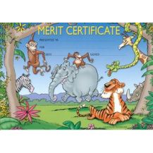 MERIT CERT. ZOO ANIMALS