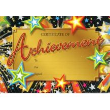 MERIT CERT. ACHIEVEMENT (200)