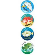 MERIT STICKER:- 101 AUSTRALIAN FISH