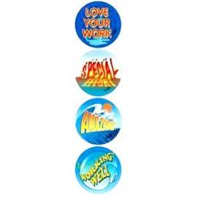 MERIT STICKER:- 102 WATER WORDS