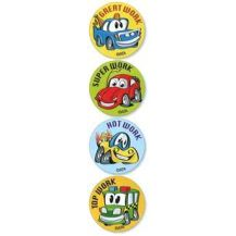 MERIT STICKER:- 111  CRAZY CARS
