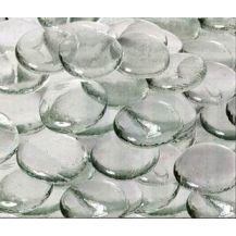 GLASS STONES 45MM PACK OF 25