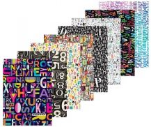 PATTERN PAPER - TYPE PACK OF 40