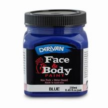 FACE PAINT 250ML BLUE