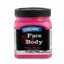 FACE PAINT 250ML FLURO PINK