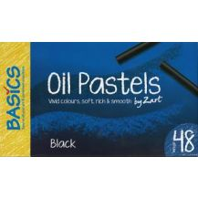 PASTEL OIL LARGE - 48'S BLACK