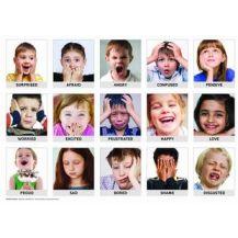 EMOTION ART AND LANGUAGE CHARTS
