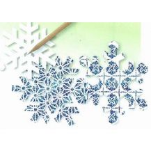SCRATCH ART - SNOWFLAKES 30'S