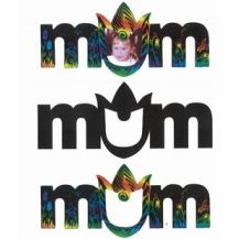 "SCRATCH ART - ""MUM"" 10'S MAGNETS"