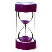 SAND TIMER GIANT 15 MINS - PURPLE