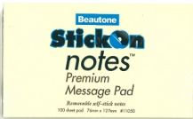 STICK-ON-NOTES (76 x 127mm) LARGE