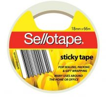SELLOTAPE CLEAR 18mm