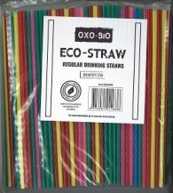 ECO-STRAW (OXO-BIO) ASSORTED 250'S