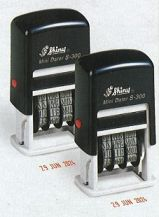 STAMP SELF INKING DATE 3MM SHINY S-300