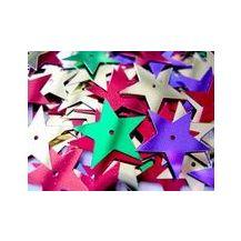 SHAPES METALLIC (100gms) STARS