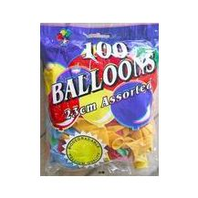 BALLOONS Bag 100 ASST GOOD QUALITY