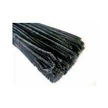 PIPE CLEANERS 6mm x 30cm (100)BLACK