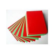 COPY PAPER BRIGHT A4 RED/GREEN (RM)
