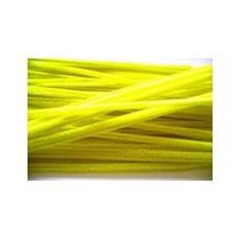 PIPE CLEANERS 6mm YELLOW (Pkt 100)