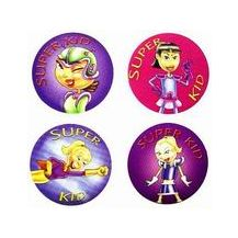 MERIT STICKER :- 11 SUPER GIRL