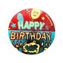 SL/STICKER:- HAPPY BIRTHDAY(CANDLE)