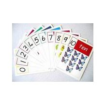 CARDS: NUMBERS A4 - NOS 1 - 10