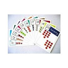 CARDS: NUMBERS A4 - NOS 11 - 20