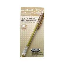 PEN UNIBALL SIGNO UM120 0.8mm - METALLIC GOLD
