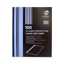 PROTECTOR SHEETS A/4 CLEAR (100)