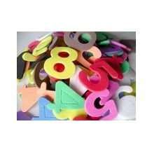FOAM CRAFT ADHESIVE CUT OUTS NUMBERS 300pce