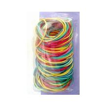 RUBBER BANDS ASST COL 55G