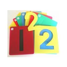 STENCIL - NUMBERS SET OF 10