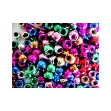 BEADS- PONY BEADS METALLIC 1000